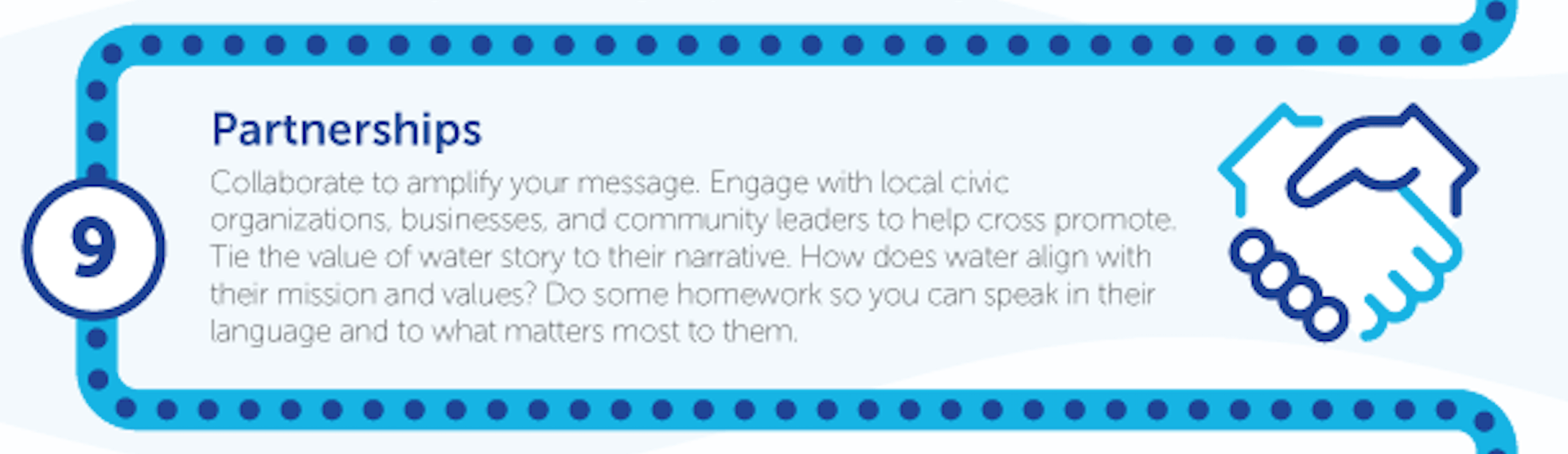 Use Partnerships to Communicate the Value of Water to New Audiences