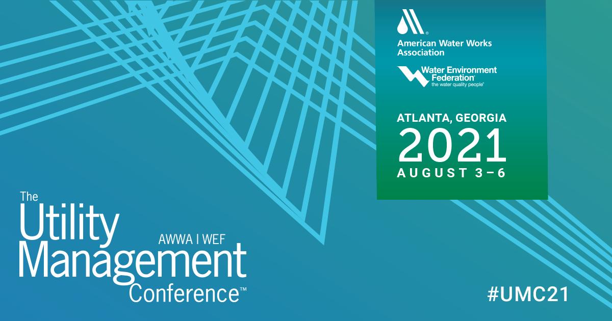 WEF/AWWA Utility Management Conference