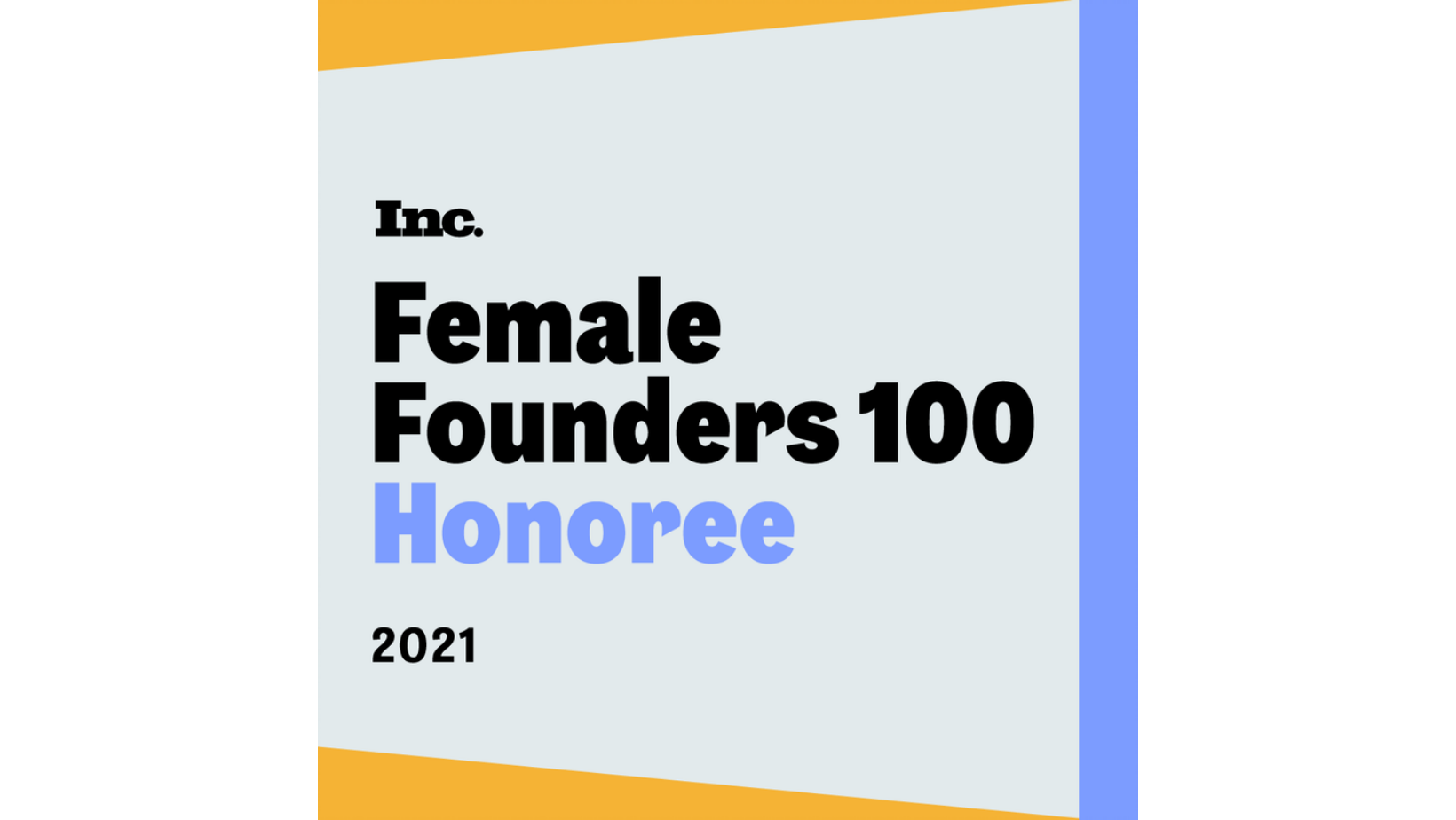 Megan Glover Named to Inc.'s 2021 Female Founders 100 List